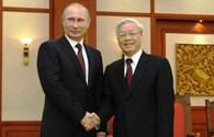Tổng thống Putin chúc mừng chiến thắng 30.4