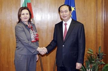 Bộ trưởng Trần Đại Quang đến Bulgaria họp bàn hợp tác phòng chống tội phạm