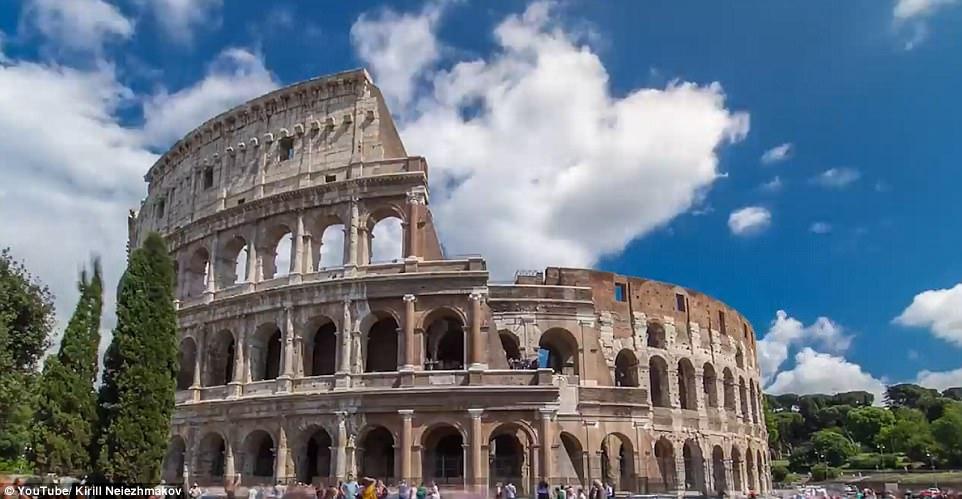 Thăm thú tất tật cảnh đẹp ở Rome trong vòng chưa đầy... 1 phút