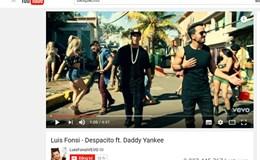 """""""Despacito"""" cán mốc 3 tỉ view, lập kỷ lục MV được xem nhiều nhất thế giới"""