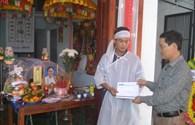 Quỹ Tấm Lòng Vàng Báo Lao Động chia sẻ nỗi đau với gia đình nữ phóng viên Hồng Sen