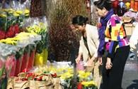 Chợ hoa Tết Giáp Ngọ của người Việt ở Mỹ