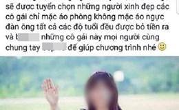 """Phạt 5 triệu đồng kẻ phao tin """"lễ hội sờ ngực từ thiện"""" ở Đà Nẵng"""