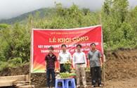 Khởi công xây nhà bán trú cho học sinh PTCS Sơn Lập, Cao Bằng từ nguồn Quỹ TLV Lao Động