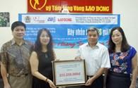 """Chương trình """"Nghĩa tình Hoàng Sa, Trường Sa"""": Quỹ TLV Lao Động tiếp nhận hơn 272 triệu đồng"""