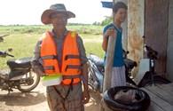 Bình Thuận: Ngàn hộ dân phải bơi sông để canh tác