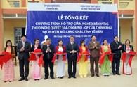 BIDV bàn giao 5 công trình hỗ trợ giáo dục trị giá 30 tỷ đồng tới tỉnh Yên Bái