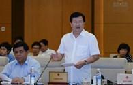 Bị chất vấn về tàu vỏ thép đang bị hư hỏng nặng, Bộ trưởng Nguyễn Xuân Cường nói gì?