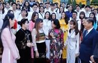 Phó Chủ tịch Nước gặp mặt HSSV tiêu biểu của các cơ sở giáo dục nghề nghiệp