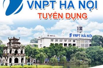 VNPT Hà Nội thông báo tuyển dụng nhiều vị trí làm việc