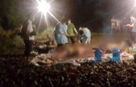 Đi làm đồng, bất ngờ phát hiện 3 thi thể phân hủy gần bờ suối