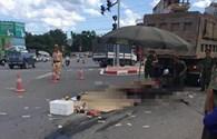 Vụ xe tải cán chết 3 người ở Hà Nội: Các nạn nhân là họ hàng