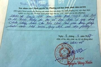 """Chủ tịch UBND TP Hà Nội yêu cầu xử lý cán bộ """"bút phê"""" vào sơ yếu lý lịch công dân"""