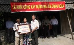 LĐLĐ tỉnh Thừa Thiên-Huế: Khởi công xây dựng nhà mái ấm công đoàn