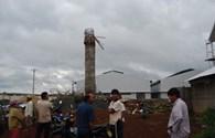 Sập đài cấp nước đang xây, 6 người bị thương