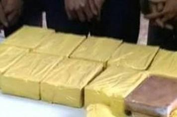 Mang 30 bánh heroin bị bắt giữ tại ga Vinh