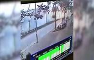 Camera ghi lại cảnh tượng trước khi xảy ra vụ nổ kinh hoàng tại KĐT Văn Phú