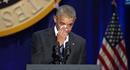 Video: Obama rơi lệ khi nhắc đến vợ trong bài phát biểu chia tay