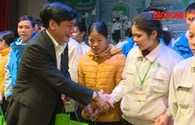 Vĩnh Phúc trao tặng hơn 1000 suất quà cho người lao động nhân dịp Tết sum vầy