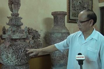"""Người đàn ông """"hô biến"""" các tảng đá thành tiền tỷ ở Hà Nội"""
