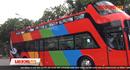 Người dân mang sẵn ô, trải nghiệm xe bus mui trần đầu tiên tại Hà Nội