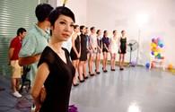 Xuân Lan nhí nhảnh sau hậu trường Next Top Model