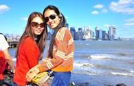 Top 6 Next Top Model 2012 lộ ảnh quậy tại New York
