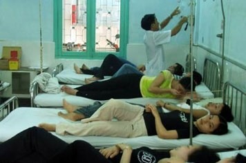 Công ty TNHH Can Sports Việt Nam: Gần 200 công nhân bị ngộ độc