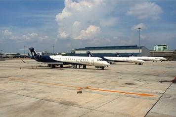 Air Mekong tạm dừng khai thác để chuyển loại máy bay