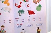 Lại có thêm sách học vần tiếng Việt vẽ cờ Trung Quốc