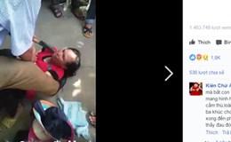Sự thật về người phụ nữ bị người dân dí dao vào cổ vì nghi bắt cóc trẻ em