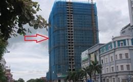 Nghệ An: Xây dựng sai giấy phép, chủ đầu tư vẫn tiếp tục thi công