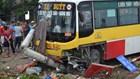 Nghệ An: Tài xế xe ôm bị xe buýt đâm rơi xuống sông tử vong