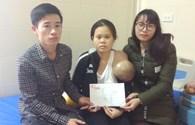 Bé trai đã chào đời, trao hỗ trợ gia đình 6,7 triệu đồng