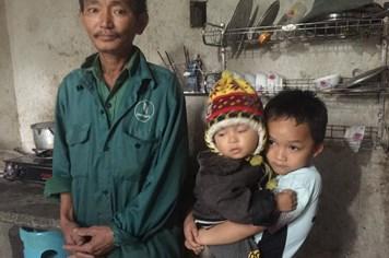 LD1708: Nguy cơ phải dừng việc học vì nhà quá nghèo của cậu bé mồ côi