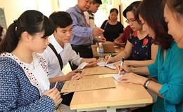 Đăng kí dự thi và xét tuyển ĐH,CĐ: Nhiều thí sinh chỉ đăng kí 1 nguyện vọng