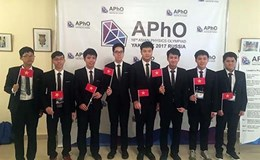 Học sinh Việt Nam giành Huy chương Vàng Olympic Vật lý châu Á