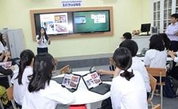 Dạy học bằng tiếng Anh: Giáo viên còn lúng túng... huống gì học sinh!