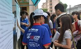 Hôm nay 21.6: Hơn 866.000 thí sinh làm thủ tục dự thi THPT quốc gia