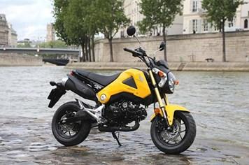 Honda sắp ra mắt xe côn tay tại Việt Nam?