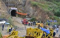 Cận cảnh vụ sập hầm thủy điện tại Lâm Đồng, 11 người mắc kẹt
