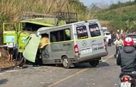 Tai nạn thảm khốc ở Thanh Hoá: 9 người chết, 4 người thương nặng