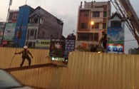 Dừng thi công 8 nhà ga Metro Hà Nội vì sự cố rơi thanh sắt