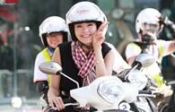 Minh Hằng cùng biker Việt khởi động hành trình phượt Tây Bắc