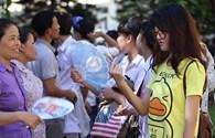 Chùm ảnh: Hàng triệu thí sinh cả nước hồi hộp bước vào kỳ thi lớn