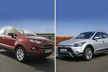 "Hyundai i20 Active ""đọ"" Ford Ecosport, ai hơn ai?"