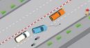 Các mức phạt khi vượt xe sai quy định