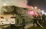 Xe khách lại cháy, nguyên nhân vì đâu?