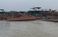 Để cát tặc lộng hành ở Bắc Ninh, 3 thanh tra giao thông thuỷ bị đình chỉ