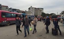 """Điểm mặt những """"bến cóc"""" dẹp mãi chưa xong tại Hà Nội"""